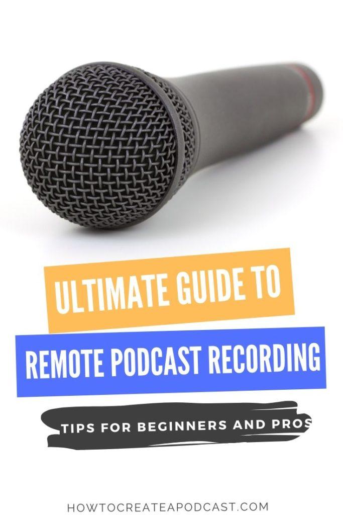 podcast remote recording