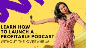 Podcast launch class